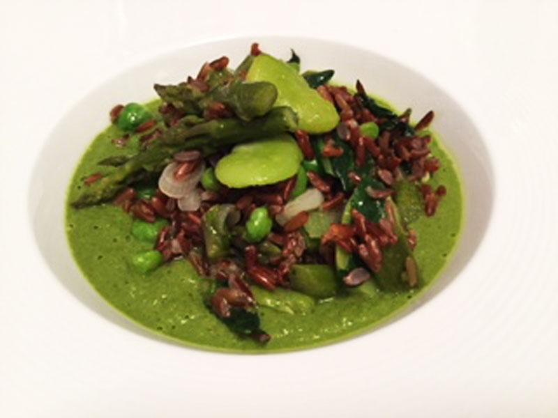 Ricette ghiotte per celiaci: riso rosso in primavera - By Gabriella