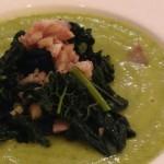 Ricette ghiotte per celiaci: crema di zucchine con cavolo nero e castagne – by Gabriella