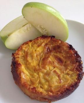 Ricette ghiotte per celiaci: tortino di porri e mele by Gabriella