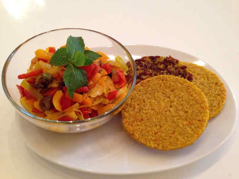 Ricette ghiotte per celiaci: gallette di quinoa – by Gabriella