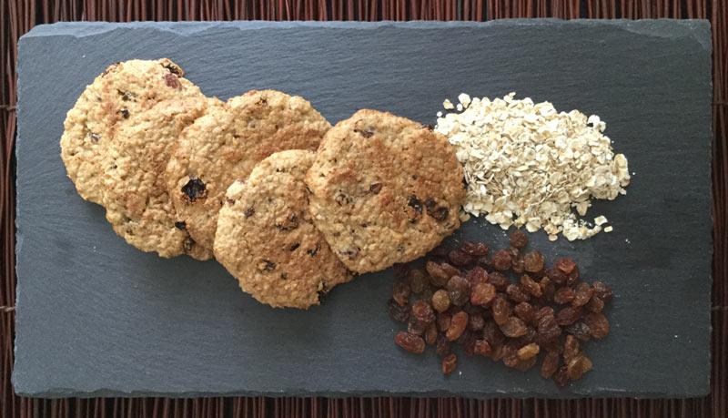 Ricette ghiotte per celiaci: biscotti di avena - By Gabriella