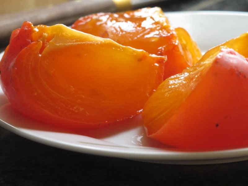 Ricette ghiotte per celiaci: Gelo di Cachi by Gabriella