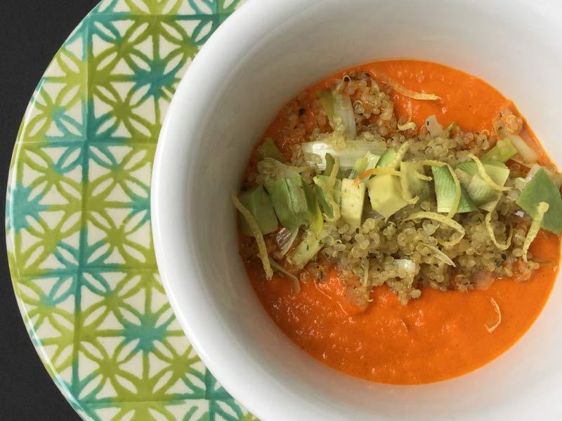 Ricette ghiotte per celiaci: Crema di peperoni rossi – by Gabriella