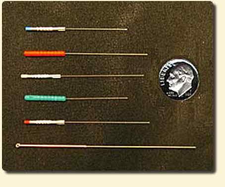 aghi sottilissimi per l'agopuntura