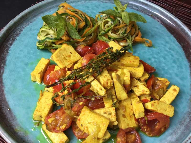 Ricette ghiotte per celiaci: tofu alle erbe aromatiche – By Gabriella