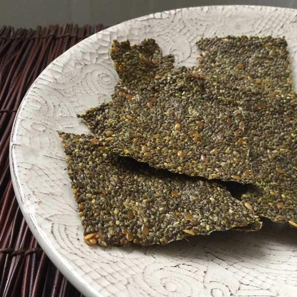 Ricette ghiotte per celiaci: sfogliette di Chia - by Gabriella