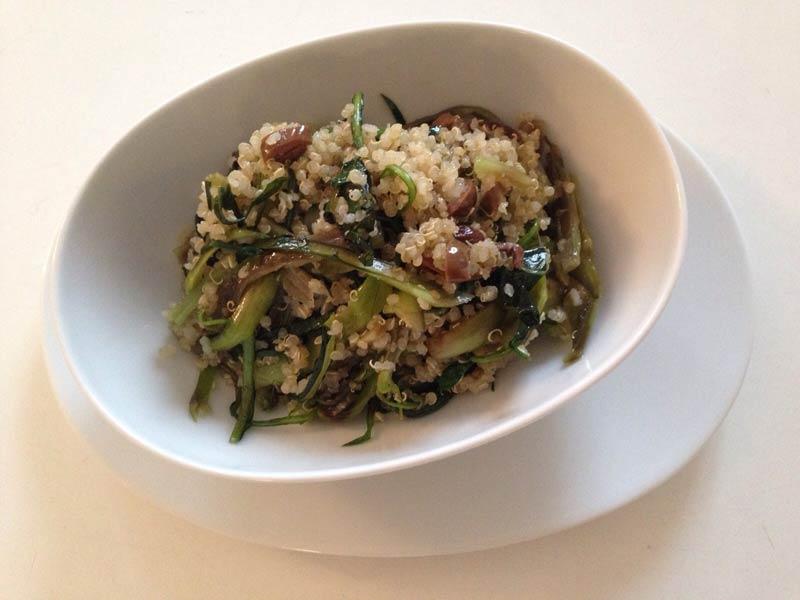 quinoa-con-puntarelle